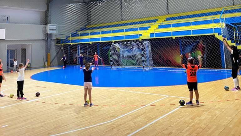 Academia Junior a reînceput antrenamentele în sală