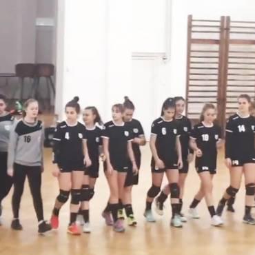 Echipa de junioare III a încheiat pe locul 3 seria preliminară din campionat
